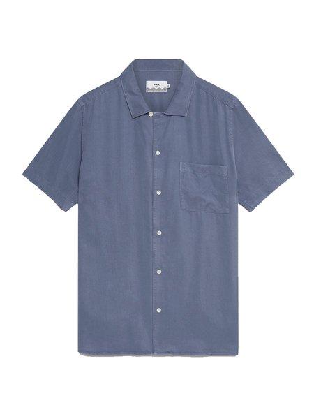 Wax London Fazely S/S Shirt - Folkstone Grey