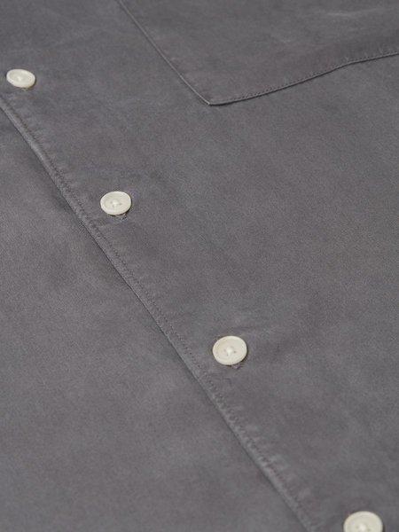 Wax London Fazely S/S Shirt - London Grey
