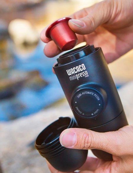 Wacaco Minipresso NS Portable Espresso Machine - Black