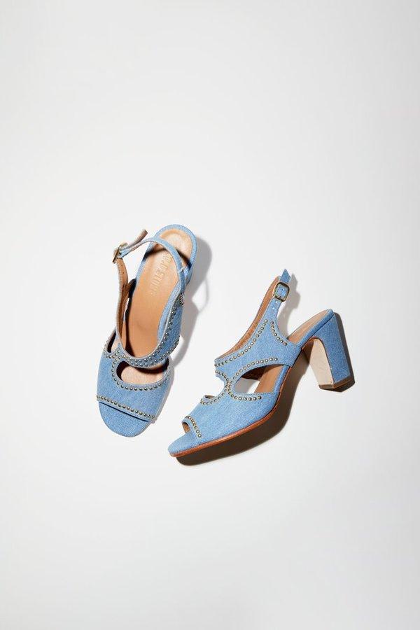 No.6 Studs Cleo Heel