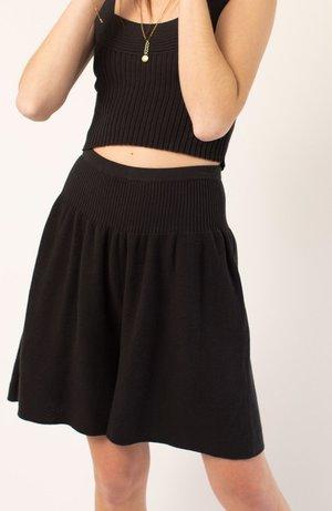Micaela Greg Viv Short - Faded Black