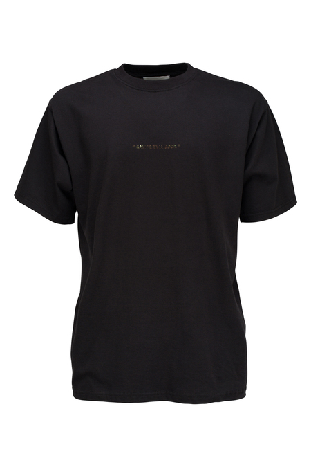 THE SILTED COMPANY Cali cool tshirt - black