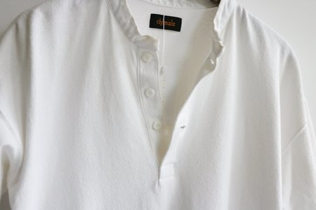 [Pre-;oved] Chimala Solid Popover Shirt - White