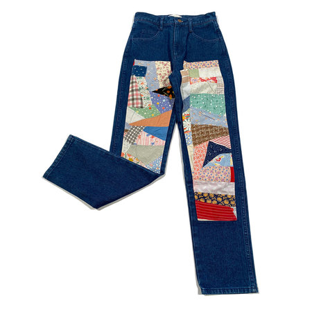 Carleen Quilt Patch Jeans