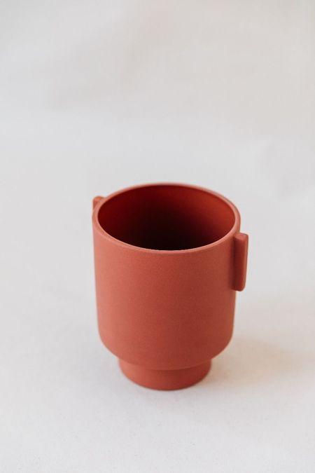 OYOY Design Medium Inka Kana Pot - Sienna