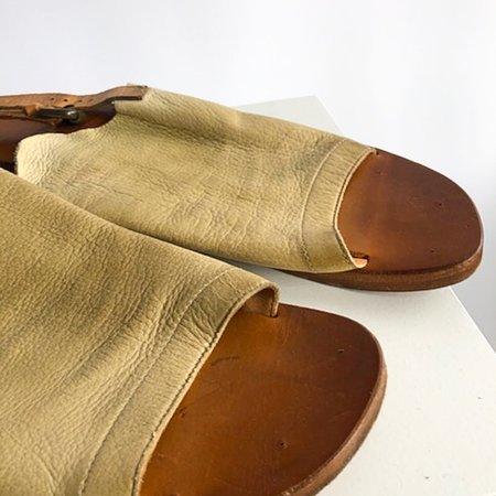 [pre-loved] Silvano Sassetti Glove Sandals - Beige