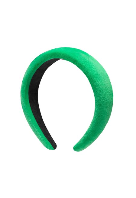 AVENUE THE LABEL POSITANO HEADBAND - green