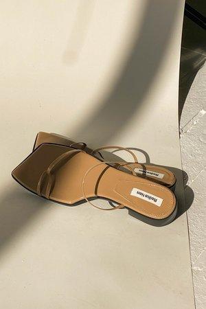 Reike Nen Asymmetry Odd Flat - beige