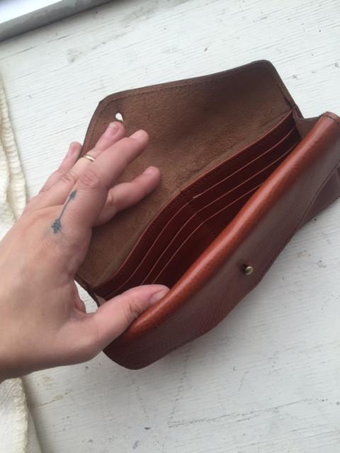 Corinne Wilde Double Pocket Wallet