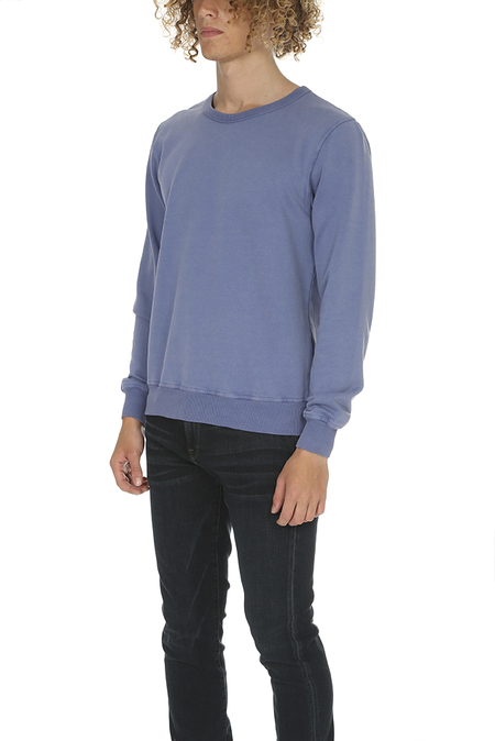 Crossley Ulind Crewneck Fleece Sweater - Indigo