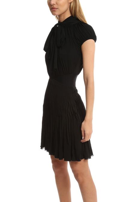 Herve Leroux Par Dress - Black