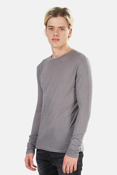 Crossley Rast Cashmere Crewneck Long Sleeve - Grey