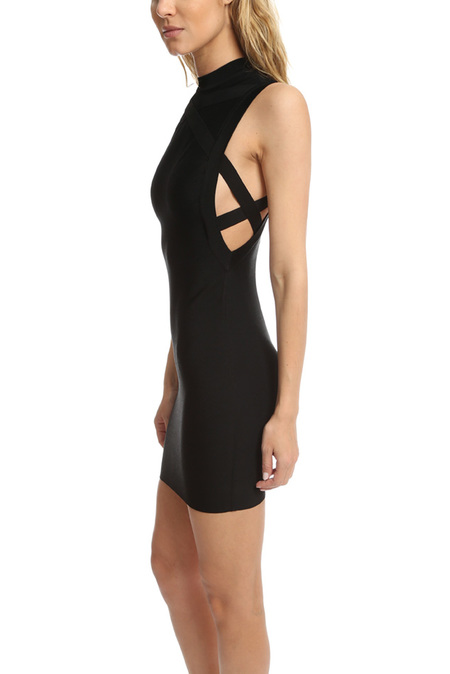 Herve Leroux Mai Dress - Black