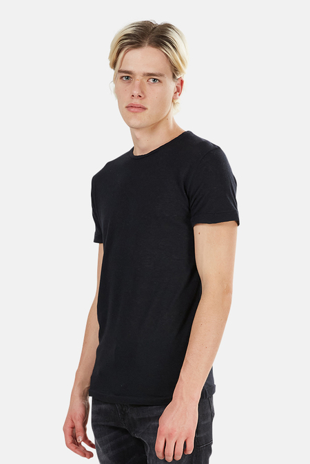 Crossley Rebel Cashmere Blend Crewneck Tee - Black