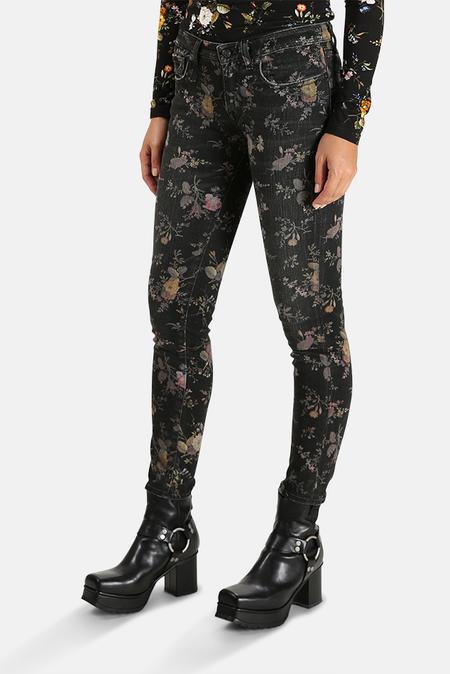 R13 Kate Skinny Jean - Light Floral