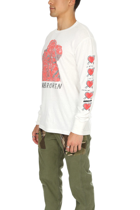 Shuttle Notes The Heart LS Tee - Off White