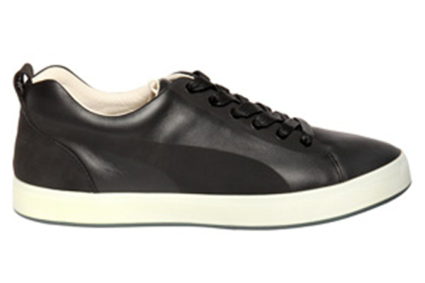 PUMA by Hussein Chalayan Urban Glide Low Leather Sneakers - Black