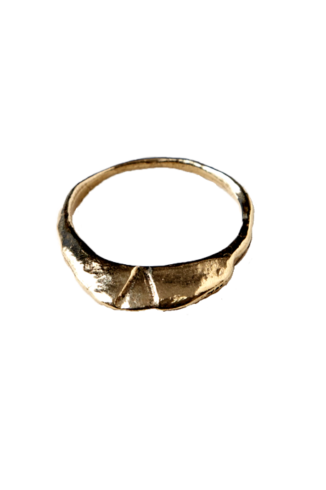 Echoes of Culture - Luna Ring Gold