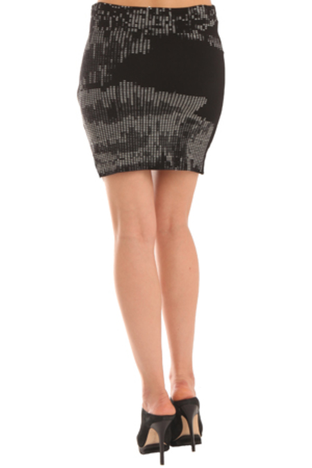 Salvor Printed Mini Skirt