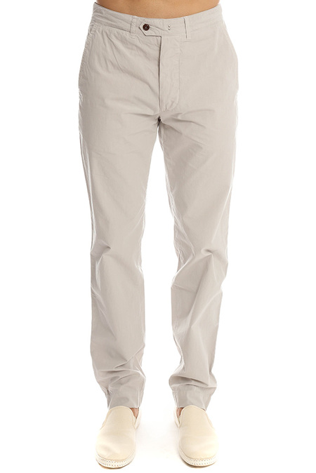 Officine Generale Lightest Poplin Chino Pant - Mastic
