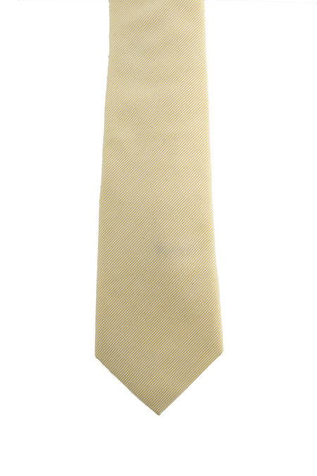 Alexander Olch Cotton Tie - Yellow