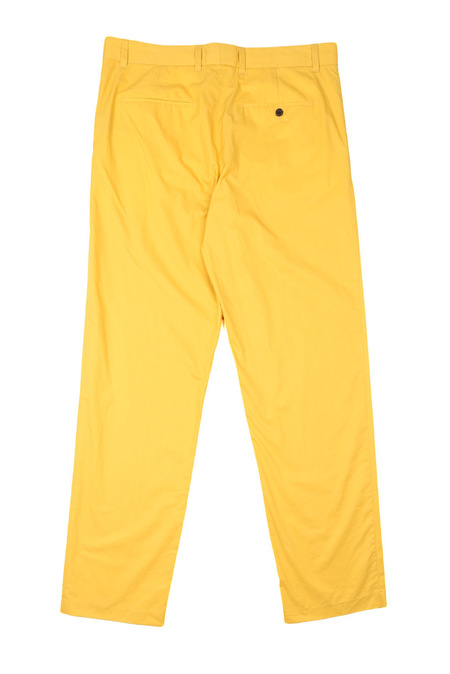3.1 Phillip Lim Relax Fit Taper Trouser - Mustard