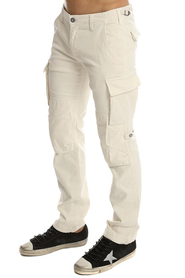 Men's Onestroke One Stroke Cargo Pants in White, Size 6