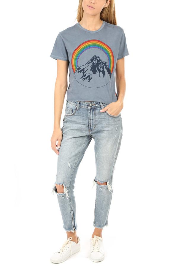 One Teaspoon Freebirds High Waist Skinny Jean - Storm Buoy