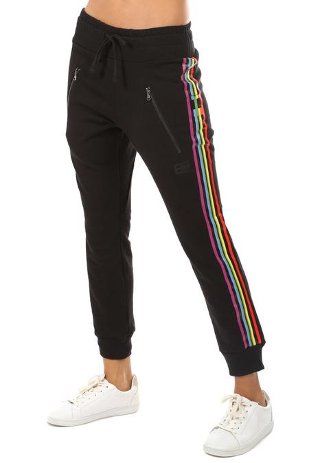 Baja East Rainbow Stripe Sweatpants - Rainbow