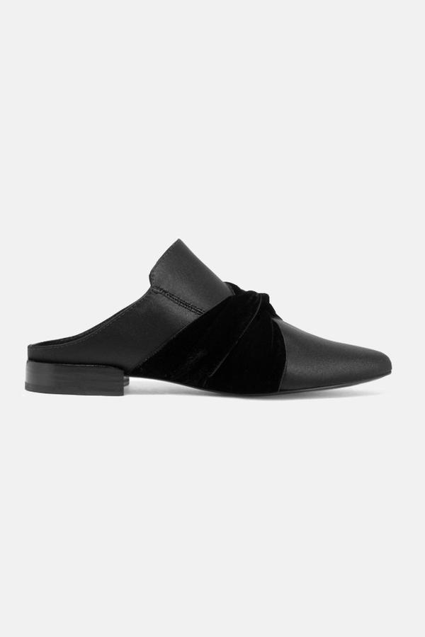 3.1 Phillip Lim Louie Mule Shoes - Black