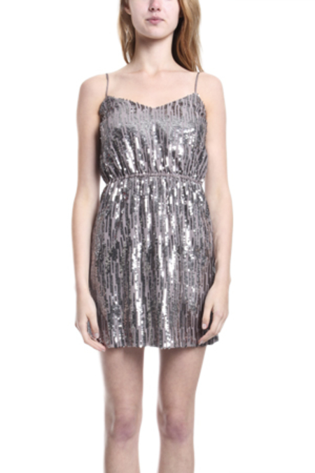 12th Street by Cynthia Vincent Sequin Slip Dress - Lilac