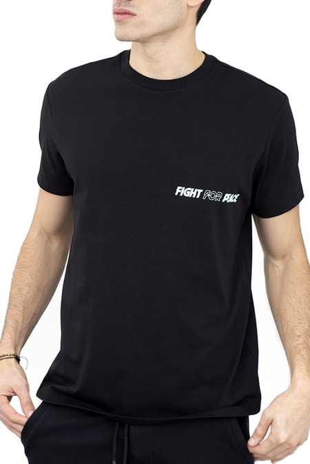DIPLOMACY Fight For Peace Tee - Black