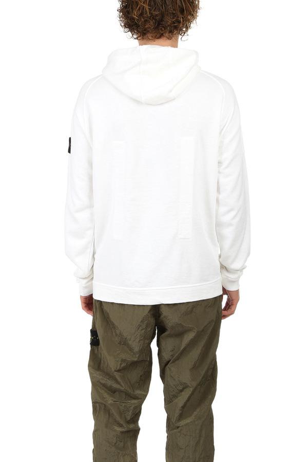 Stone Island Hooded Sweatshirt Sweater - White