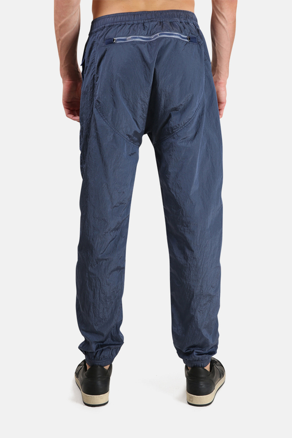 Stone Island Nylon Metal Track Pants - Avio Blue
