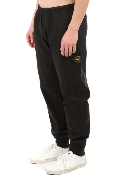 Stone Island Cotton Fleece Pant - Black