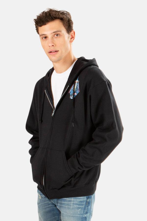 Blue&Cream Cosmic Trip Hoodie Sweater - Black