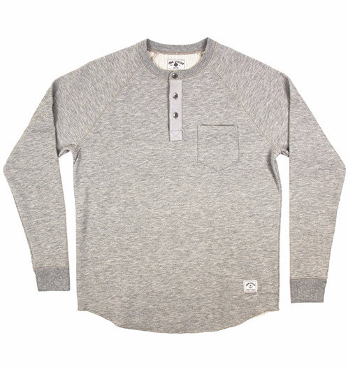 Men's Iron and Resin Hat Trick Henley