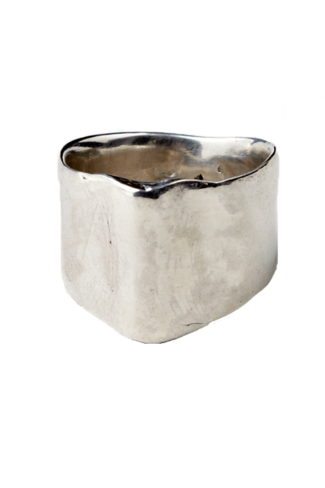 Echoes of Culture - Omen Ring Silver