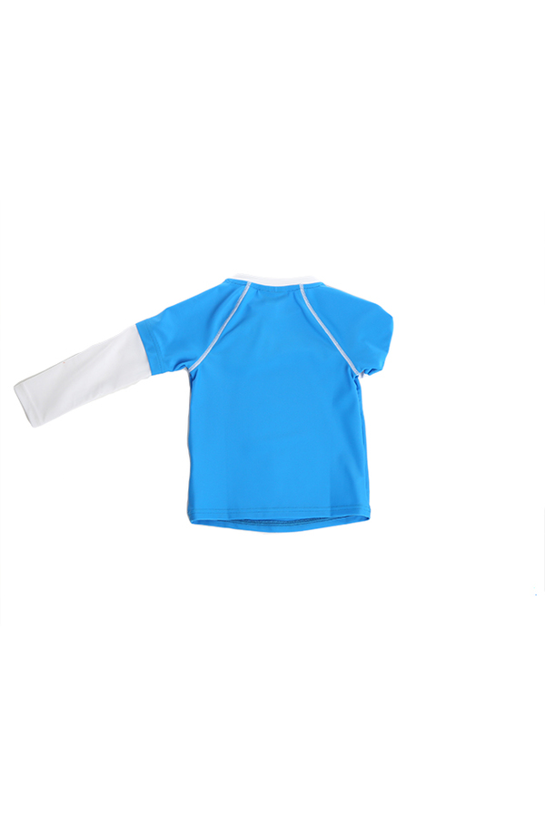 Kids Sunuva UPF 50+ Rash Guard  - Blue