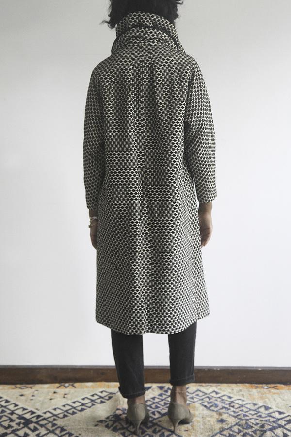 The Shudio Vintage Patterned Long Coat