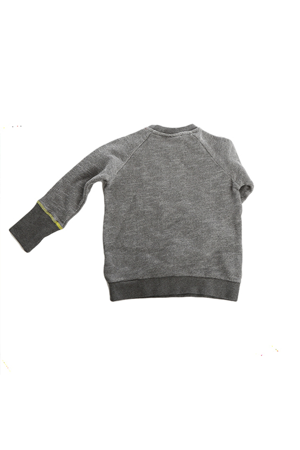Kids Tootsa MacGinty Westend Taxi Sweater - Charcoal