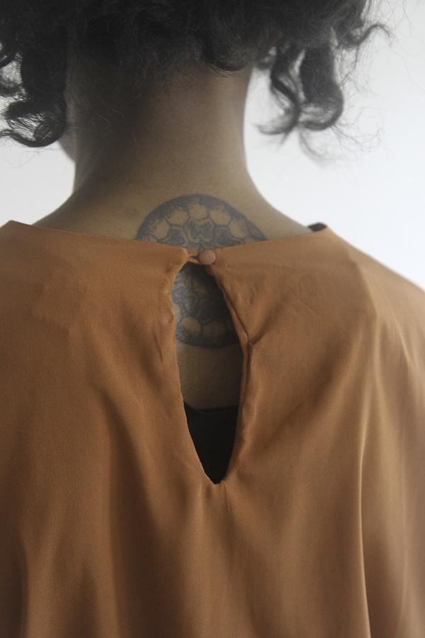 The Shudio Vintage Burnt Sienna Fall top