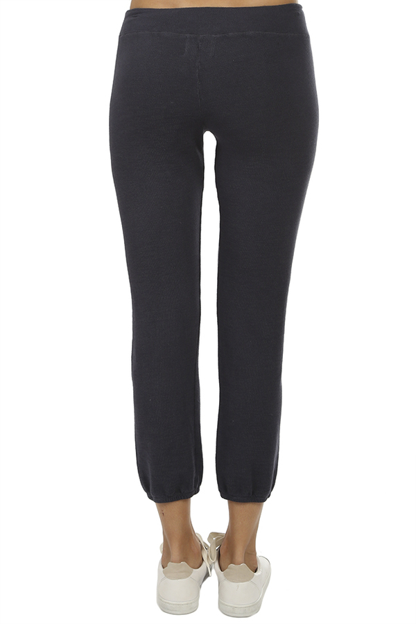 Monrow Vintage Sweatpant - Vintage Black