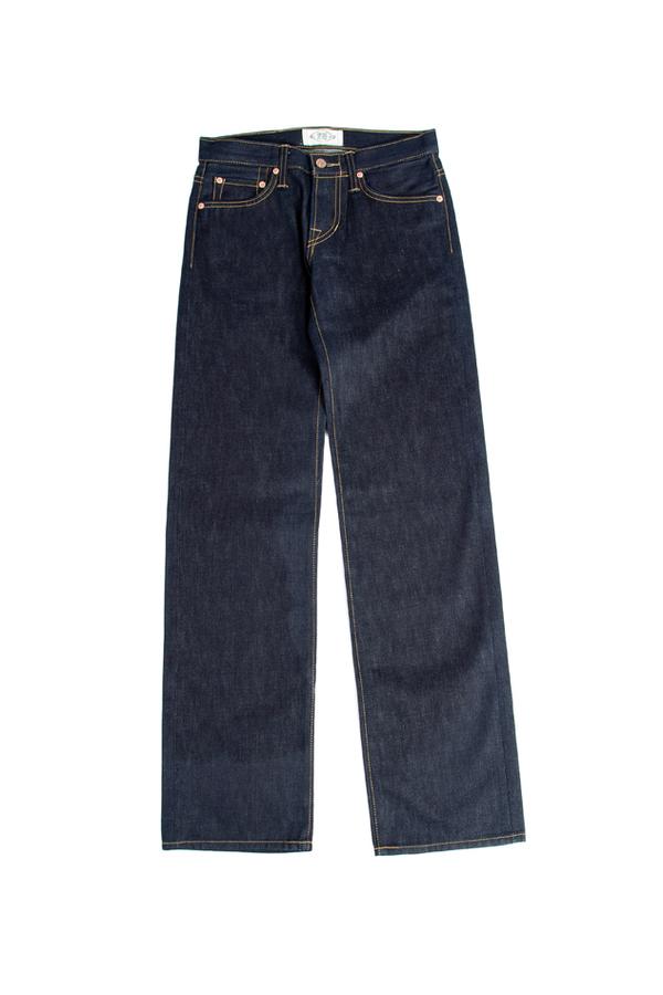 Simon Spurr Raw Denim Pants - Blue