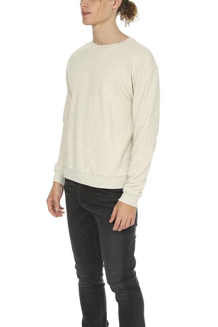 Velva Sheen Crewneck Sweatshirt - Oatmeal