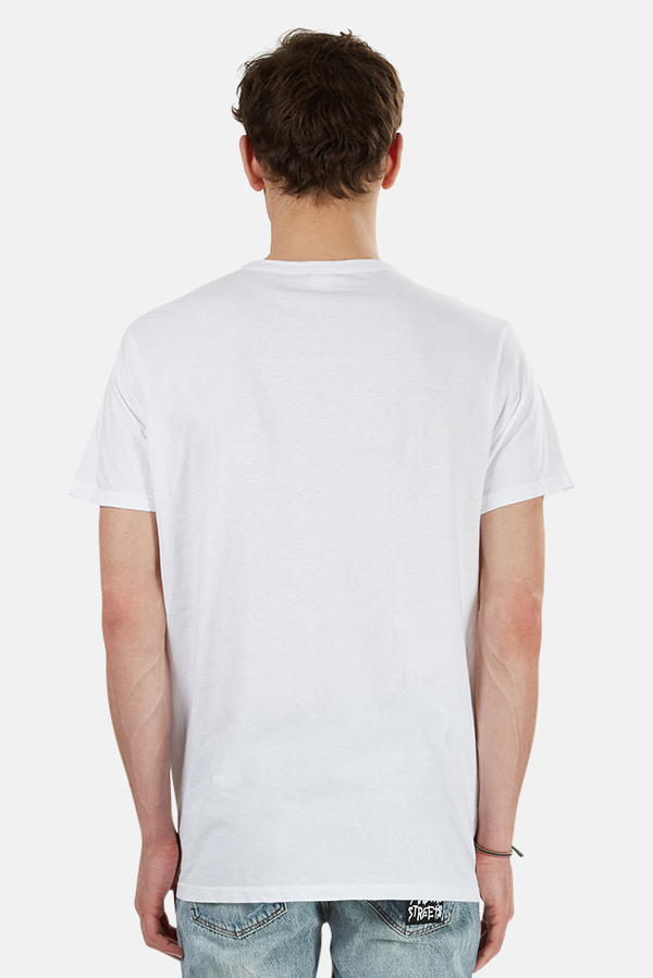 RE/DONE Long Modern T-Shirt - White