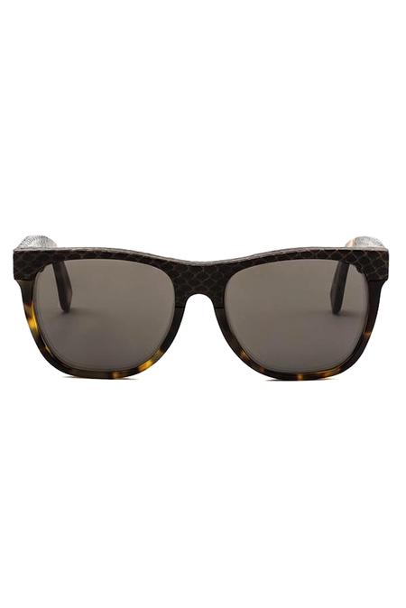 RetroSuperFuture Super Classic Skins Sunglasses - Havana/Snakeskin