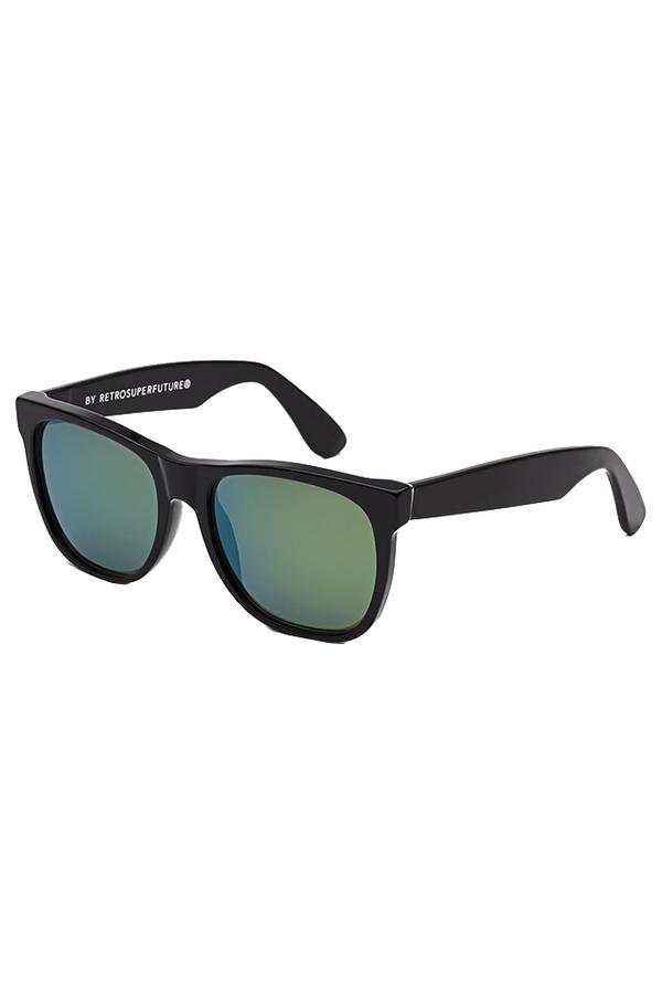 RetroSuperFuture Classic Petrol Sunglasses - Black