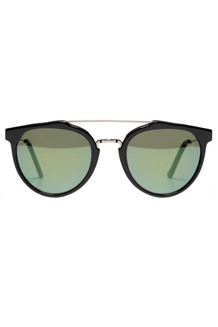 RetroSuperFuture Super Giaguaro Patrol Sunglasses - Black