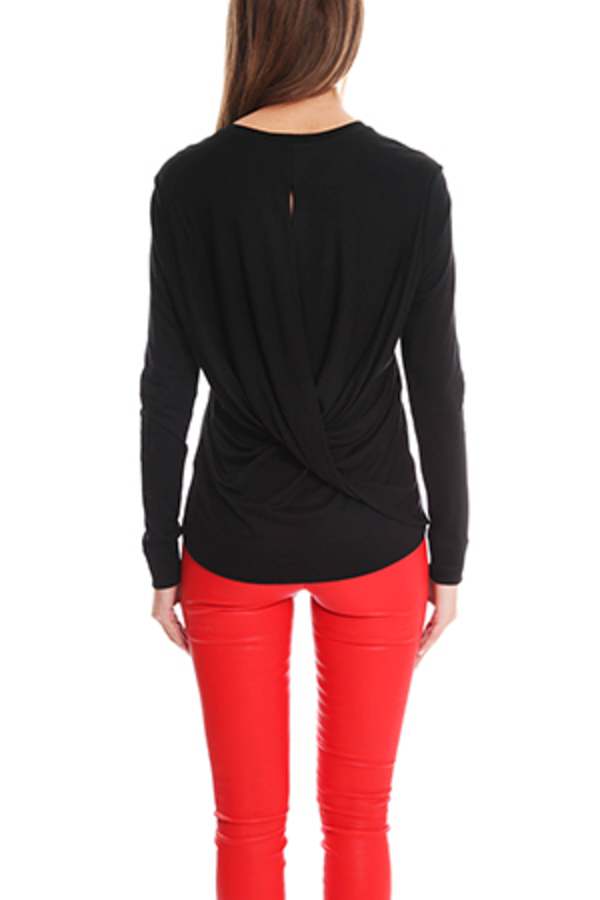 Helmut Lang Sync Jersey Top - Black